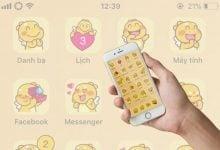Photo of Themes Qoobee Agapi dễ thương và cực kì đáng yêu cho iDevice