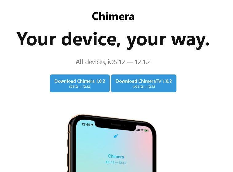 Hướng dẫn dùng Chimera để Jailbreak iOS 12 0 – 12 2 - ThuThuatJB