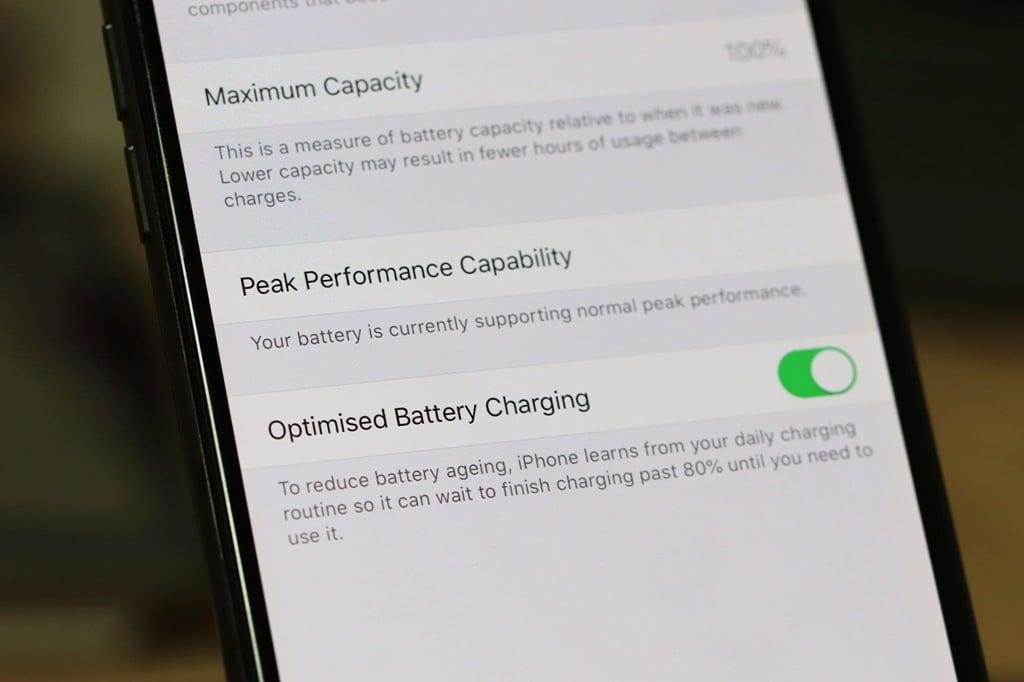 Ios13optimizedbatterycharging
