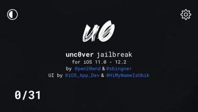 Unc0ver Dark Mode