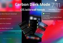 Carbon Dark Mode