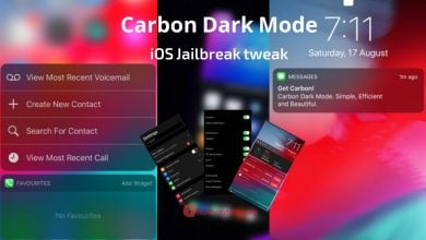 Carbon Dark Mode