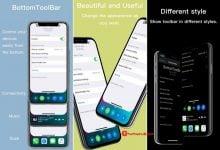 Photo of BottomToolBar – Một thanh điều chỉnh đẹp và hữu ích bên dưới màn hình iPhone