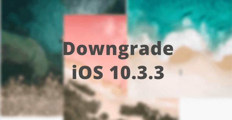 Hướng dẫn hạ cấp iPhone 5S và tất cả các thiết bị chip A7 về iOS 10.3.3